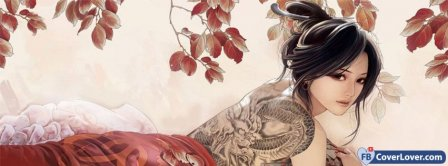 Dragons Tattoo  Facebook Covers