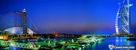 Dubai Nightlife Facebook Covers