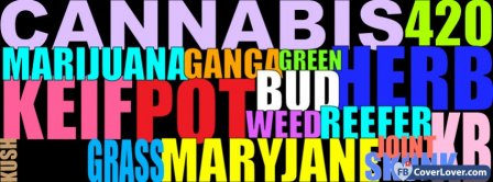 Enjoy Marijuana 2  Facebook Covers