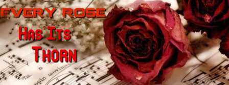 Every Rose Has Its Thorn Facebook Covers