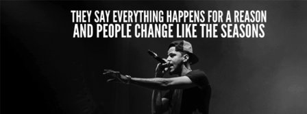 Lost Ones by J Cole Lyrics Facebook Covers