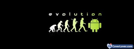 Evolution Android Facebook Covers