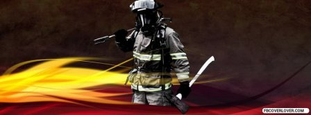 Firefighter Facebook Covers
