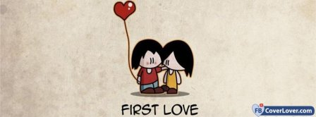 First Love Couple Facebook Covers