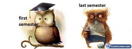 First Semester Last Semester Facebook Covers