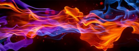 Colorful Flare Facebook Covers