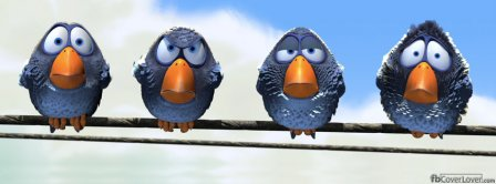Funny Birds 2 Facebook Covers