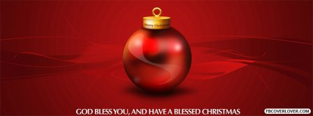 God Bless You Christmas Facebook Covers