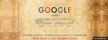 Google Classic Facebook Covers