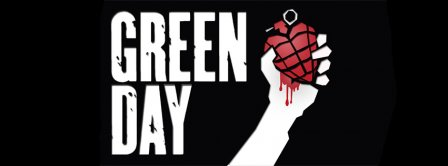 Green Day Heart Facebook Covers
