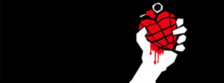 Green Day Heart Logo Facebook Covers
