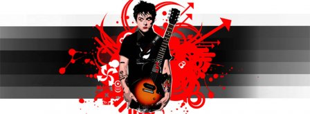 Green Day Billy Joe Amstrong Facebook Covers