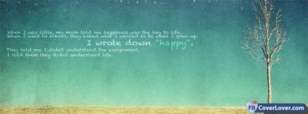 Happiness Tree Facebook Covers