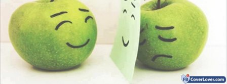 Happy And Sad Apple Facebook Covers