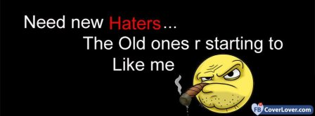 Need New Haters Facebook Covers