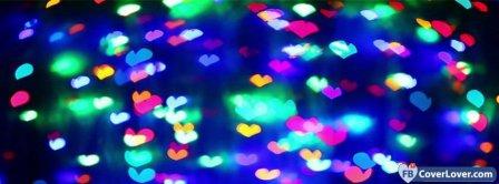 Heart Lights  Facebook Covers