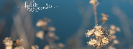 Hello November Cold Facebook Covers
