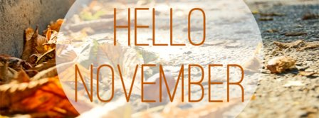 Hello You November Facebook Covers