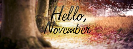 Hello November Forest View Facebook Covers