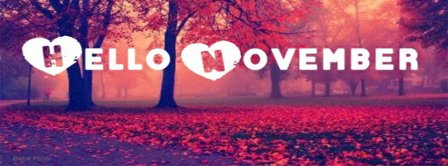 Hello Love November Facebook Covers