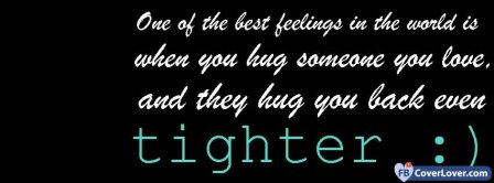 Hug Qoutes Facebook Covers