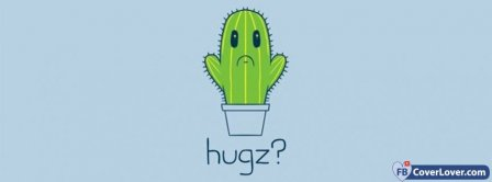 Hugz Cactus Facebook Covers