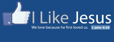 I Like Jesus Facebook Covers