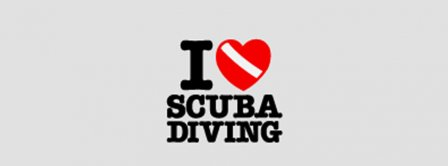 I Love Scuba Diving Facebook Covers