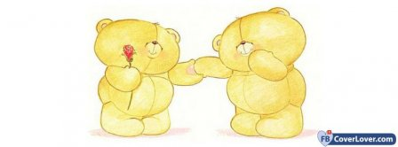 I Love You Teddy Forever Friend Bears Facebook Covers
