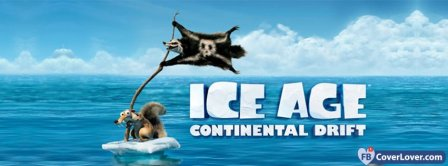 Ice Age Continental Drift 1 Facebook Covers