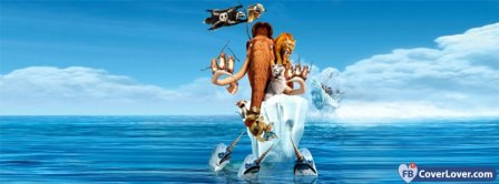 Ice Age Continental Drift 2 Facebook Covers
