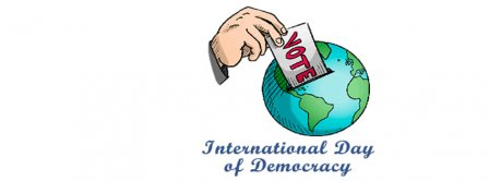 International Day Of Democracy Facebook Covers