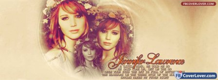Jennifer Lawrence 2 Facebook Covers