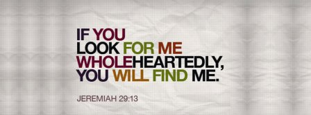 God Will Find You Jeremiah 29 13 Facebook Covers