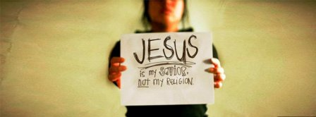 Jesus Is My Savior Facebook Covers