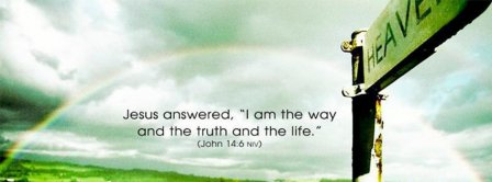 Jesus Answered John 14 6 Facebook Covers