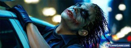 Joker In Car  Facebook Covers