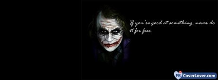 Joker Quotes Dark Knight 2  Facebook Covers