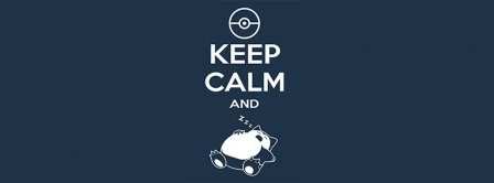 Keep Calm And Pokemon Facebook Covers