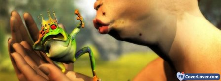 Kiss A Frog Prince Facebook Covers