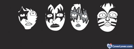 Kiss Band Facebook Covers