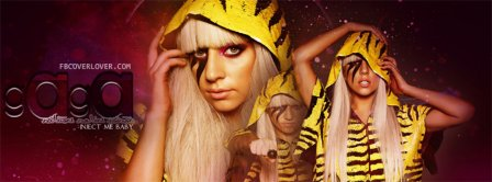 Lady Gaga 3 Facebook Covers