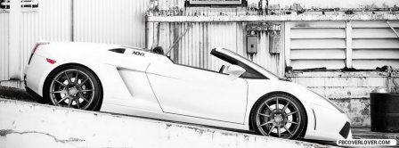 Lamborghini Gallardo Spyder Facebook Covers