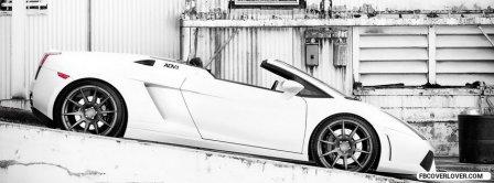 Lamborghini Gallardo Spyder Facebook Covers