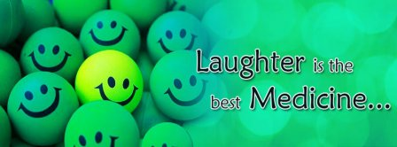 Laughter Is The Best Medicine Facebook Covers