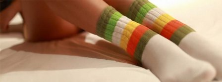 Legs Colored Socks Facebook Covers