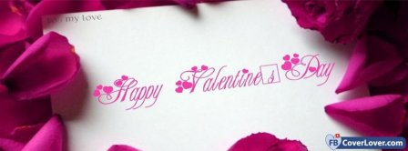 Letter To Love Valentines Day Facebook Covers