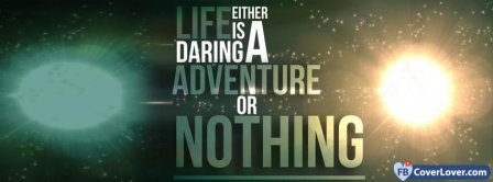 Life Is An Adventure Facebook Covers