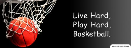 Live Hard Play Hard Facebook Covers