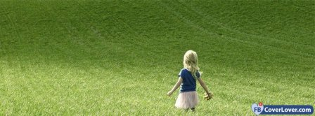 Little Girl In Nature Facebook Covers